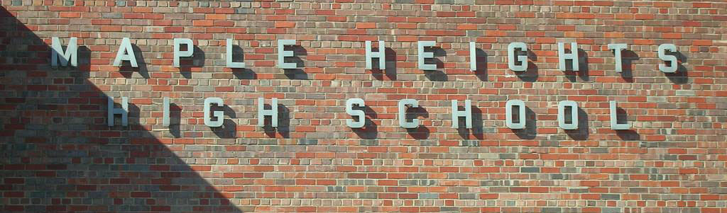 maple heights high school sign